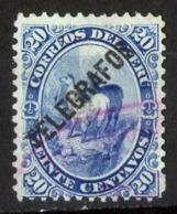 PERÙ-Yv. 7-Telégrafo -N-12356 - Perù