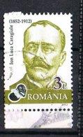 2012 - ROMANIA - PERSONAGGI FAMOSI - FAMOUS PEOPLE. USATO / USED. - 1948-.... Repubbliche