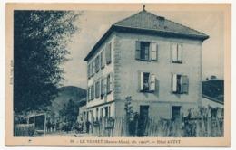 CPA -  LE VERNET (Basses Alpes) - Hôtel Auzet - Francia