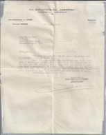 NL.-  Brief Van N.V. Exploitatie Mij. HABARRAH. Hyacintweg 31 Te 's-Gravenhage. Den Haag. 25 April 1935 - Nederland