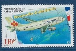 "Nle-Caledonie Aerien YT 349 (PA) "" Airbus En Vol "" 2001 Oblitéré - Luftpost"