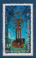 """Nle-Caledonie YT 847 """" Statuette """" 2001 Oblitéré - Nouvelle-Calédonie"""