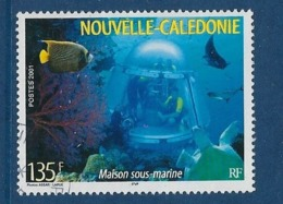 "Nle-Caledonie YT 852 "" Maison Sous-marine "" 2001 Oblitéré - Gebraucht"
