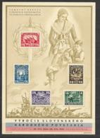 O-101-CZECHOSLOVAKIA1945-1. JUBILEE SLOVAKIA ARMY  1944 -BL-MNH** 7 - Blocks & Sheetlets