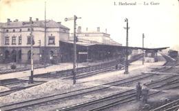 Herbestal - La Gare (animée, TOB 1925) - Lontzen