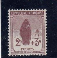France - Année 1917-18 - Y.T.N°148** - Au Profit Des Orphelins De La Guerre - France