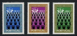 Portugal 400th Anniversary Of Martyrdom Of Brazil Missionaries 3v MNH SG#1435-1437 - 1910-... République