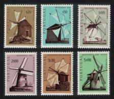 Portugal Portuguese Windmills 6v MNH SG#1407-1412 - 1910-... République