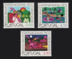 Portugal 36th International Camping And Caravanning Federation Rally 3v MNH SG#1574-1576 - 1910-... République
