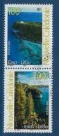 """Nle-Caledonie YT 857 & 858 Paire """" Paysages """" 2001 Oblitéré - Neukaledonien"""