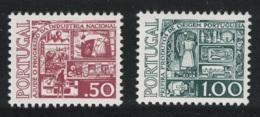 Portugal National Production Campaign 2v MNH SG#1599-1600 - 1910-... République