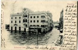 AUTRICHE AUSTRIA GMUNDEN Hochwasser 1899 - Gmunden