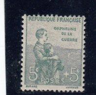 France - Année 1917-18 - Y.T.N°149** - Au Profit Des Orphelins De La Guerre - France