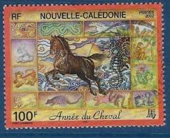 """Nle-Caledonie YT 863 """" Année Du Cheval """" 2002 Oblitéré - Neukaledonien"""