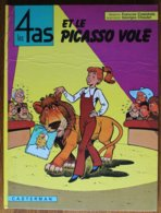 BD LES 4 AS - 12 - Les 4 As Et Le Picasson Volé - Rééd. 1975 - 4 As, Les