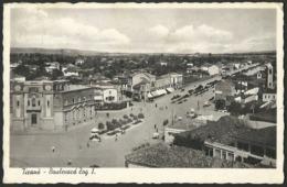 Albania: Tiranë, Boulevard Zog I. (formerly Stalin Boulevard)  1938 - Albanien