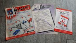 Lot  3 Documents Publicité  Colle Mohican Sakobor - Frankreich