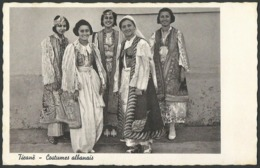 Albania: Tiranë, Costumes Albanais  1938 - Albanien