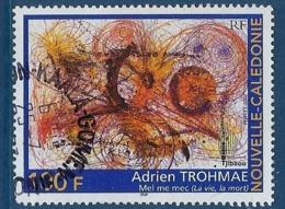 "Nle-Caledonie YT 881 "" Peinture "" 2002 Oblitéré - Neukaledonien"