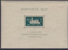 Dantzig BF N° 1 XX DAPOSTA Timbre-poste, Le Bloc Sans Charnière, TB - Autres - Europe