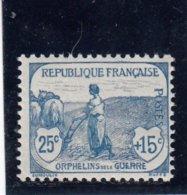 France - Année 1917-18 - Y.T.N°151** - Au Profit Des Orphelins De La Guerre - France