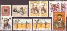Guiné/Guinée -  Lot Divers 10 Timbres ( Période Coloniale ) - Guinée Portugaise