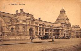 Tournai Tournay - La Gare (animée, Edition Belge Bruxelles 1927) - Doornik