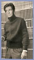 COUPURE De PRESSE 1955 - 12 X 22 Cm - ACTEUR CHANTEUR JEAN CLAUDE PASCAL - VAINQUEUR EUROVISION 1961 Pour Le LUXEMBOURG - Other Formats