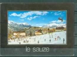 04 - LE SAUZE SUR BARCELONNETTE - STATION DE SPORTS D'HIVER DE LA VALLEE DE L'UBAYE  Alt. 1400-2400 M. - Barcelonnette