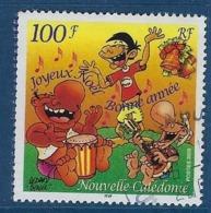 """Nle-Caledonie YT 909 """" Joyeux Noël """" 2003 Oblitéré - Neukaledonien"""