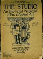 The Studio An Illustrated Magazine Of Fine & Applied Art 45 (No. 187 - Oct 15 1908) - Architecture/ Design