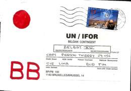 Belgique. TP 2692 L. Chaudfontaine > Contingent Casques Bleus Belges BELBAT XV  Dans La Baranja   1991 - Marcophilie
