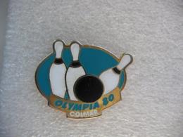 "Pin's Du Club De Bowling ""Olympia 80"" à Colmar - Bowling"