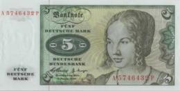 BRD Ro 262b 5 DM Serie A...P 1960(1963) UNC - [ 7] 1949-… : RFA - Rep. Fed. De Alemania