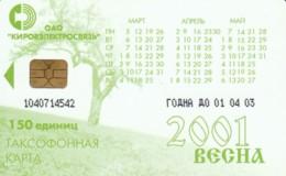 PHONE CARD RUSSIA KIROELECTROSVYAZ KIROV (E54.14.1 - Rusland