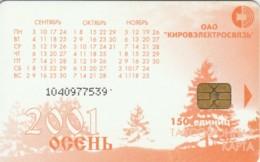 PHONE CARD RUSSIA KIROELECTROSVYAZ KIROV (E54.14.3 - Rusland