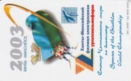 PHONE CARD RUSSIA KHANTY MANSI YSKORKE TELECOM (E54.15.5 - Rusland