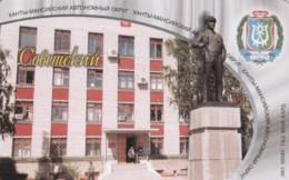PHONE CARD RUSSIA KHANTY MANSI YSKORKE TELECOM (E54.15.7 - Rusland
