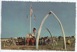 X122584 USA U. S. A.  AK ALASKA ALASKAN ESQUIMAU ESQUIMAUX ESQUIMO ESQUIMOS ANNUAL WHALE FESTIVAL BALEINE BALEINES - Etats-Unis