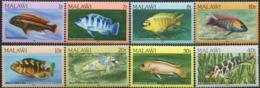 MALAWI 1986 Fish Fishes Marine Life Animals Fauna MNH - Fishes