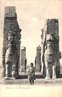 Ruines De Persepolis (animation, Imp. C F Röder) - Iran