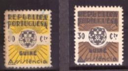 Guiné/Guinée -  1942 Et 1961 - Taxe Stamp Timbre 50cts Avec Plis Voir Verso. - Non Classés