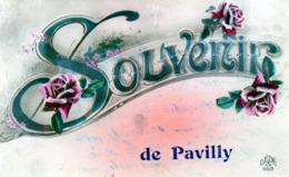 CPA -  SOUVENIR De PAVILLY  (76) - Pavilly