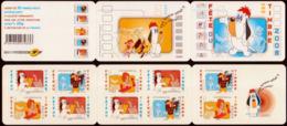2008  2  Carnets  AA N° BC150  Neufs** (faciale: 21.00€) - Commémoratifs
