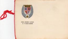 Carte Double Des Forces Aériennes Tactiques, Et 1ére Région Aérienne. - Non Classés