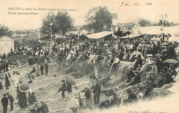 SAINTES  FETES DES ECOLES LAIQUES PARTIE SUPERIEURE OUEST JUIN 1904 - Saintes