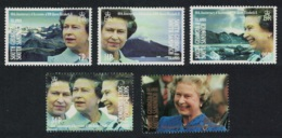 South Georgia 40th Anniversary Of Queen Elizabeth II's Accession 5v MNH SG#209-213 - Géorgie Du Sud