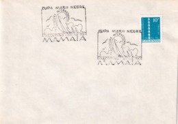 Romania 1973 Cover: Sailing , Segeln; Voile; Vela; Copa Marii Negre; International Yachting Concurs - Sailing