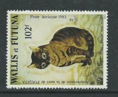 """Wallis Et Futuna P.A. N° 125 XX 150ème Anniver. De La Mort Du Peintre T. Foujita, """"Chat"""" Toile De 1926,  Sans Char. TB - Ohne Zuordnung"""