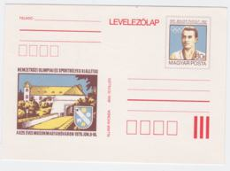 Hungary Postal Stationary 1896 Olympic Games Paris - Rudolf Bauer, Hungary Winner Of Olympic Gold - Summer 1900: Paris